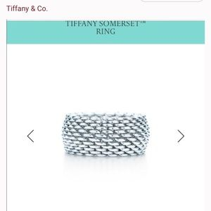 Tiffany's Somerset Classic Wide Ring